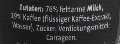 Café freddo - Zutaten - de