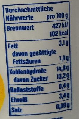 Der Grosse Bauer Mango Muesli - Nutrition facts