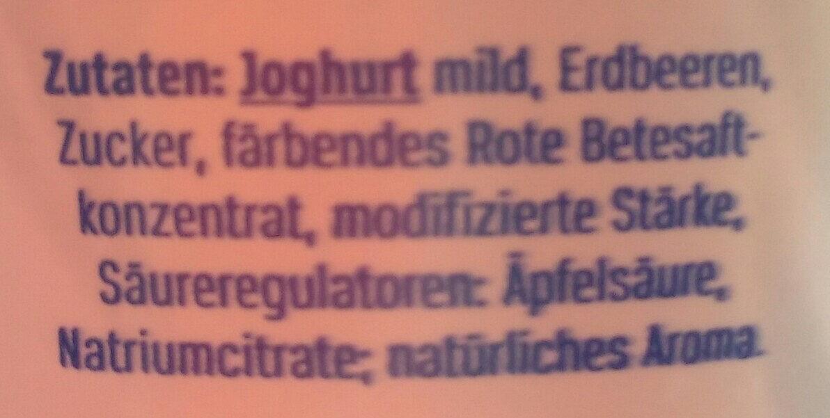 Der große Bauer Erdbeere - Ingrédients - de