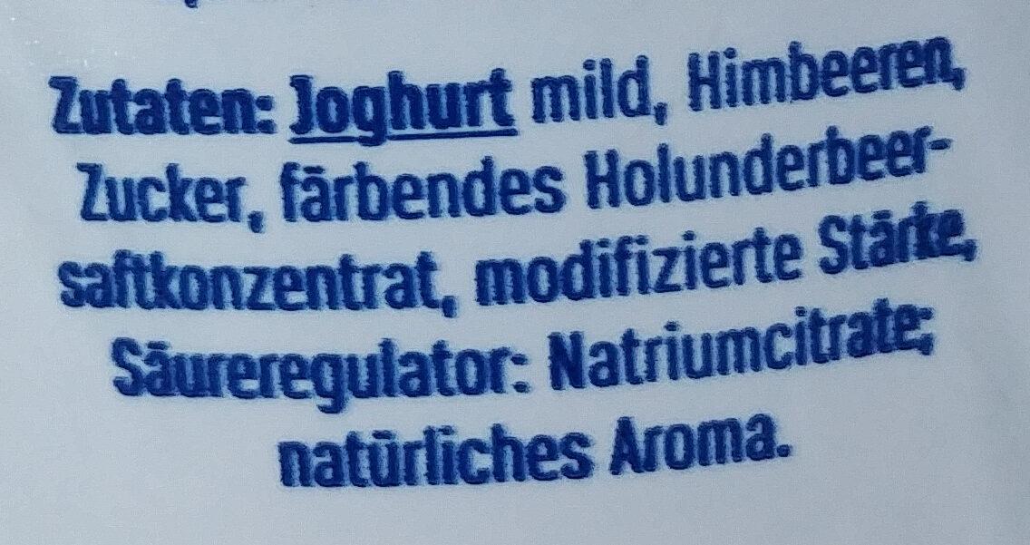Der große Bauer Himbeere - Ingrediënten - de