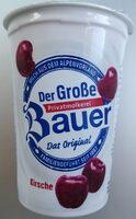 Joghurt mild mit 18% Kirschzubereitung (mit 40% Kirchen), 3,5% Fett im Milchanteil. - Product
