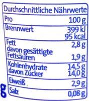 Der Grosse Bauer Banane - Voedingswaarden - de