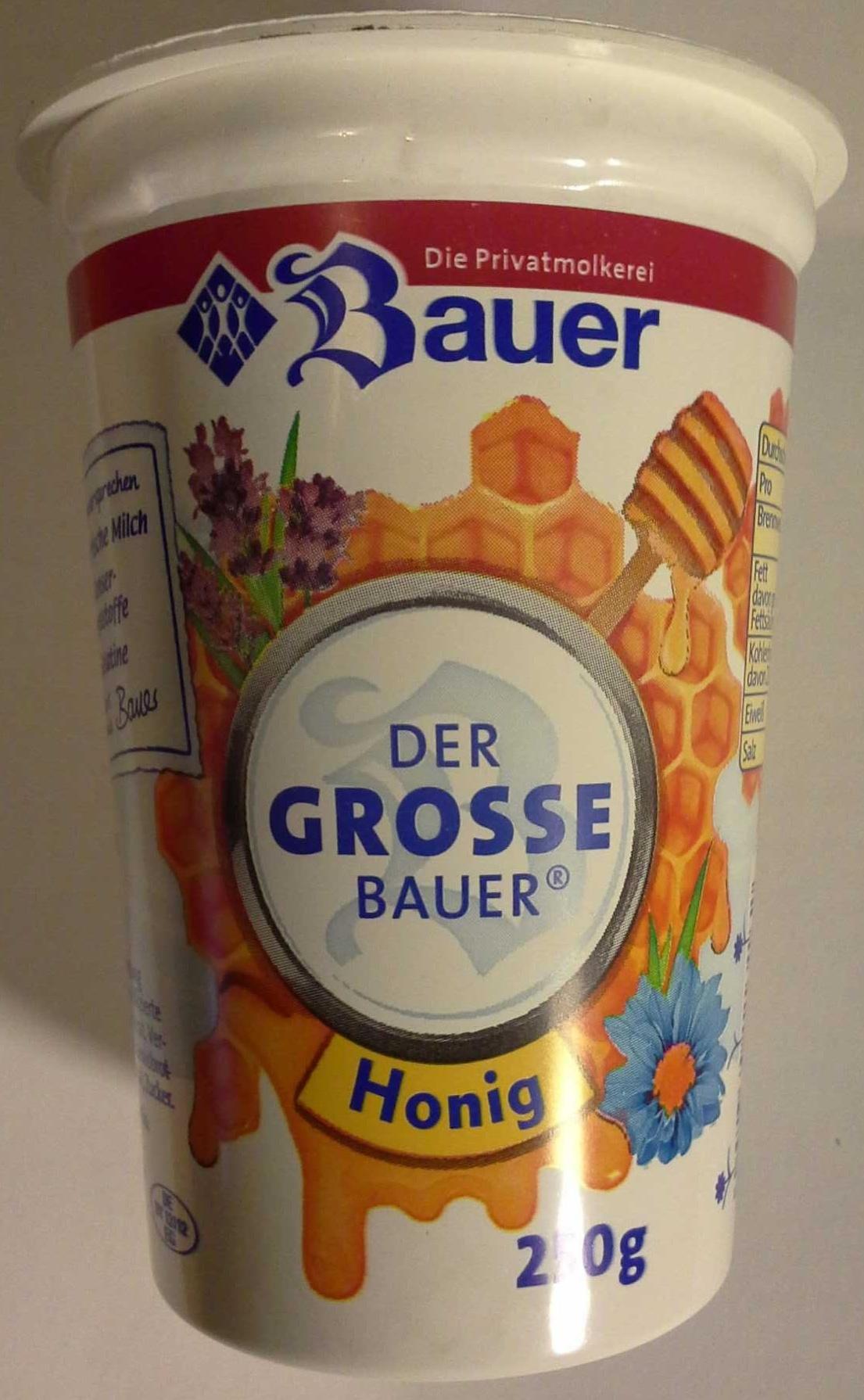 Der große Bauer Honig - Produkt