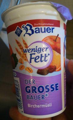Der Grosse Bauer Birchermüsli - Product - de