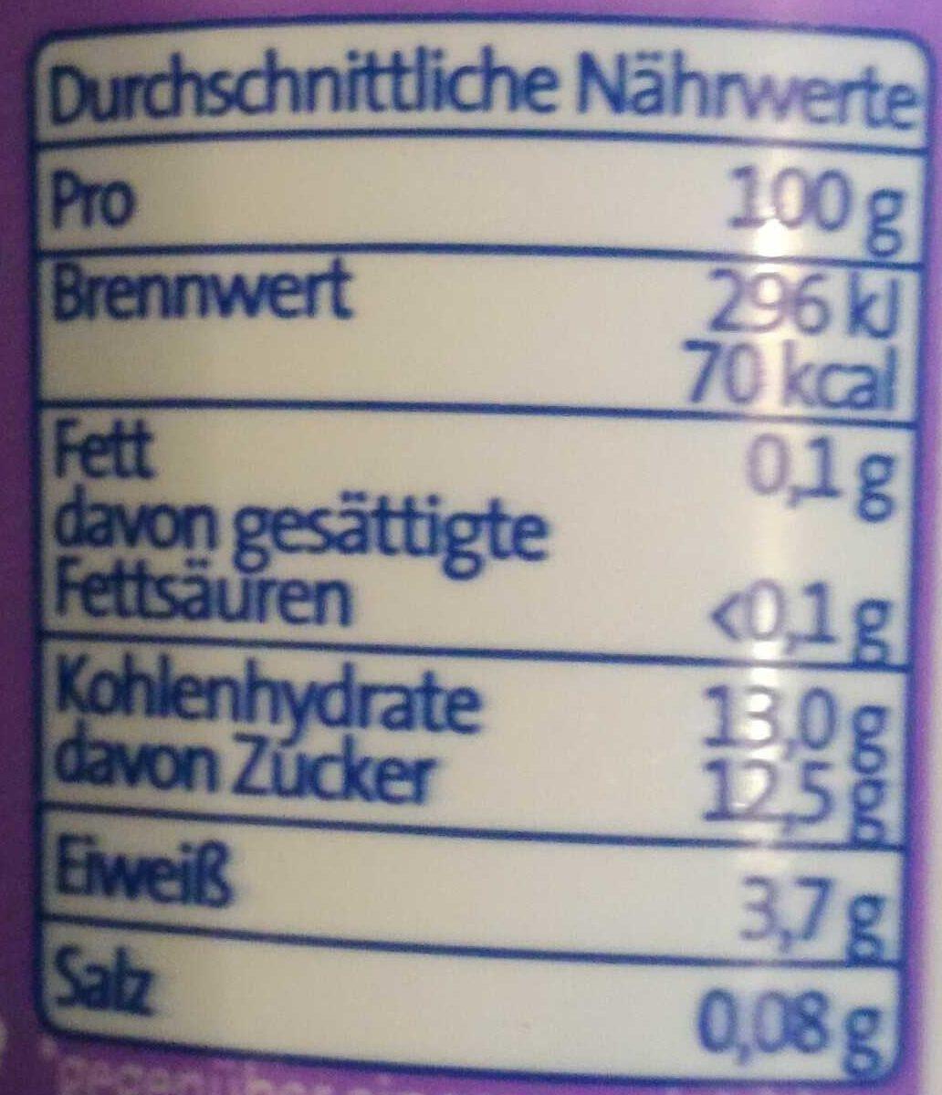 Der Grosse Bauer Birchermüsli - Voedingswaarden - de