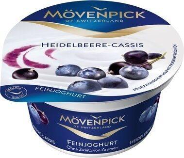 Mövenpick Feinjoghurt, Heidelbeere Cassis - Produit - de