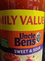 Uncle Ben's sweet and sour sauce - Product - en