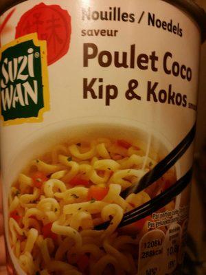 Nouilles saveur poulet coco - Produit
