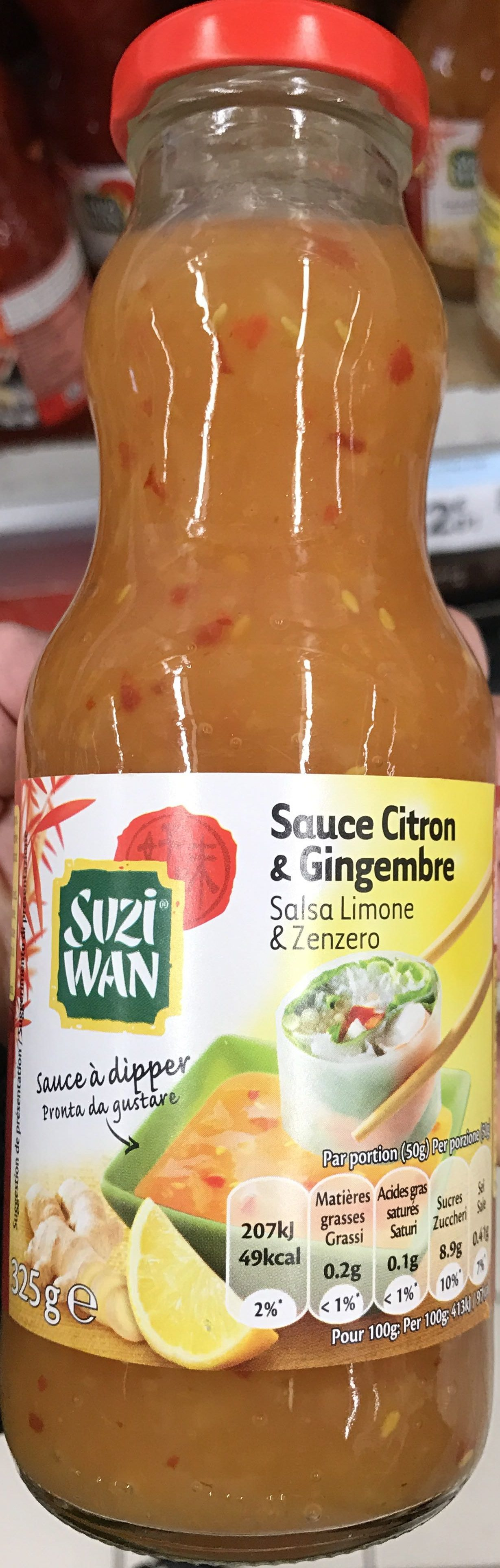 Sauce Citron & Gingembre - Product