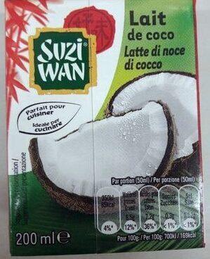 Lait de coco - Product - fr