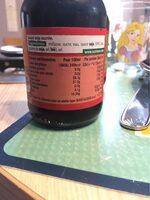 Sauce soja sucrée Suzi Wan 137,5 ml - Informations nutritionnelles - fr