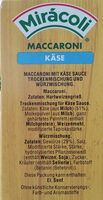 Miracoli Käse - Ingredients