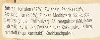 Uncle Ben's Sauce für Chili con Carne - Ingrédients - de