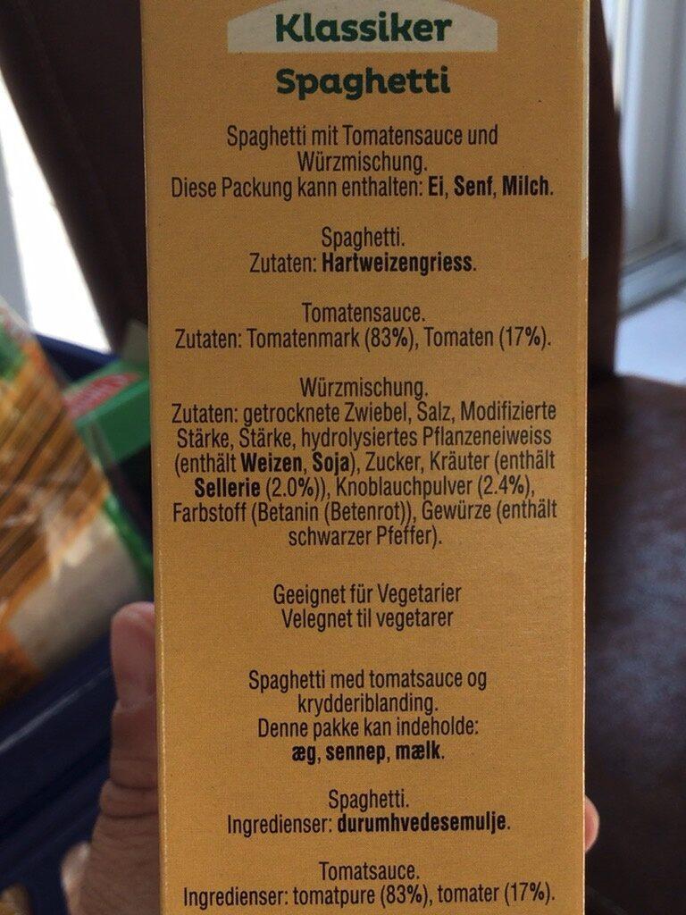 Mirácoli - Ingredients - de