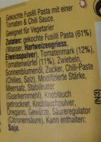 Pasta Pronto Arrabiata - Zutaten - de