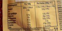 Pasta Pronto Arrabiata - Nährwertangaben - de