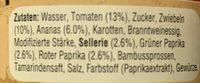 Uncle Ben's Süß-Sauer Extra Gemüse - Ingrédients - fr
