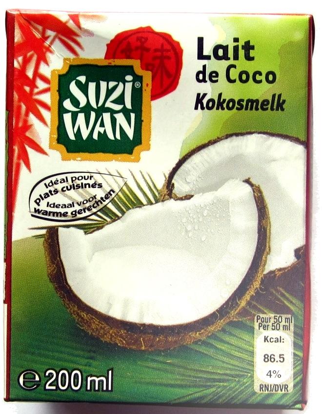 Lait de coco suzi wan - Product