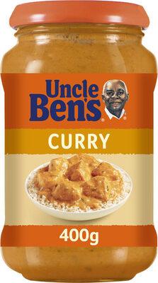 Sauce curry Uncle Ben's 400 g - Produit - fr