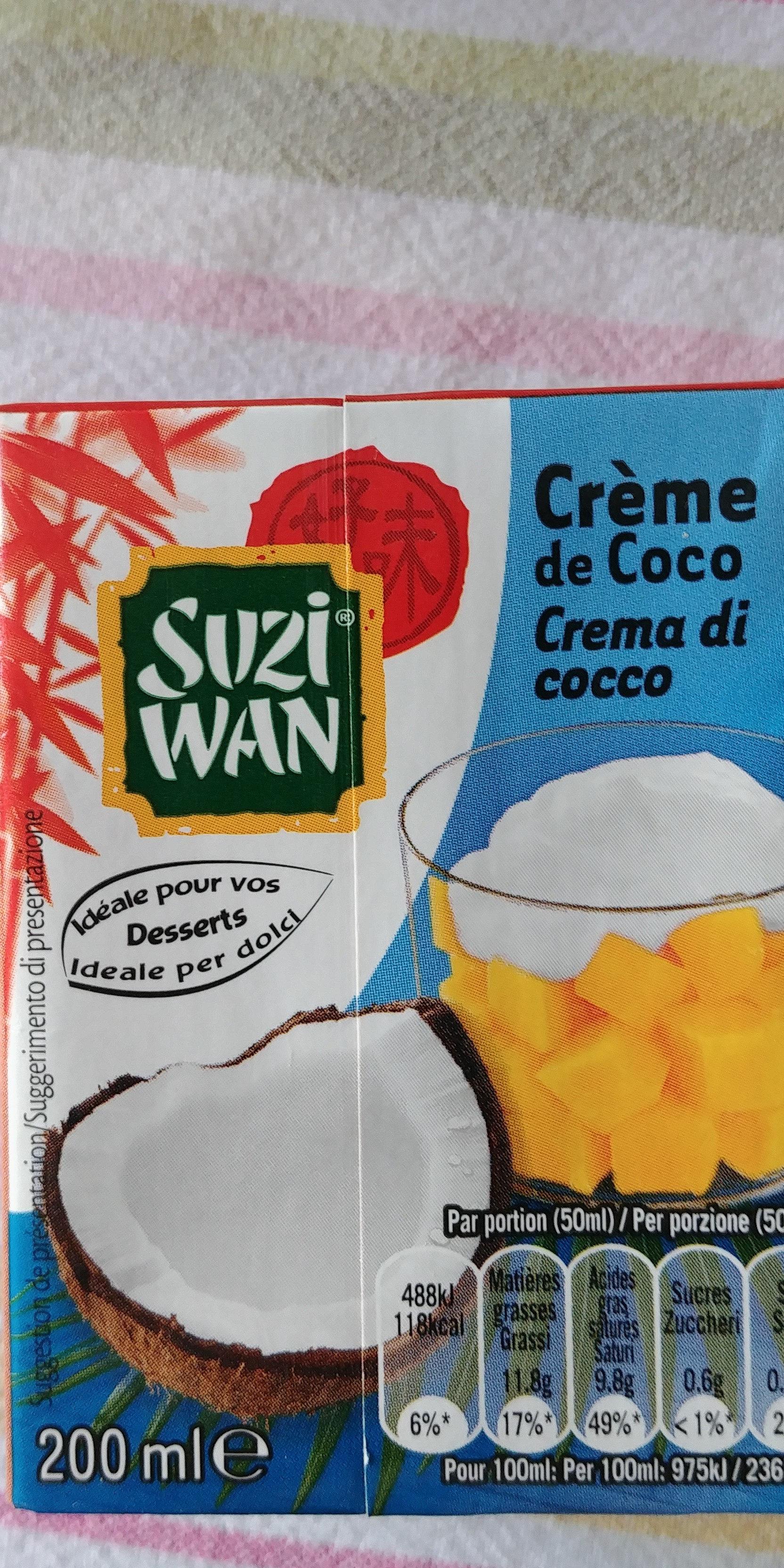Crème de coco - Prodotto