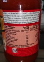 Sauce Aigre douce - Voedigswaarden