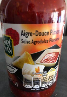 Sauce aigre-douce pimentée - Produit