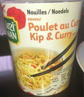 Nouilles saveur poulet au curry - Produit