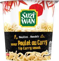 Nouilles en pot saveur poulet curry  Suzi Wan 62 g - Produit - fr