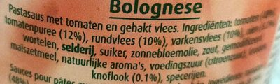 Sauce bolognaise avec viande - Ingrediënten - nl