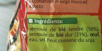 Nouilles aux oeufs - Ingrédients - fr