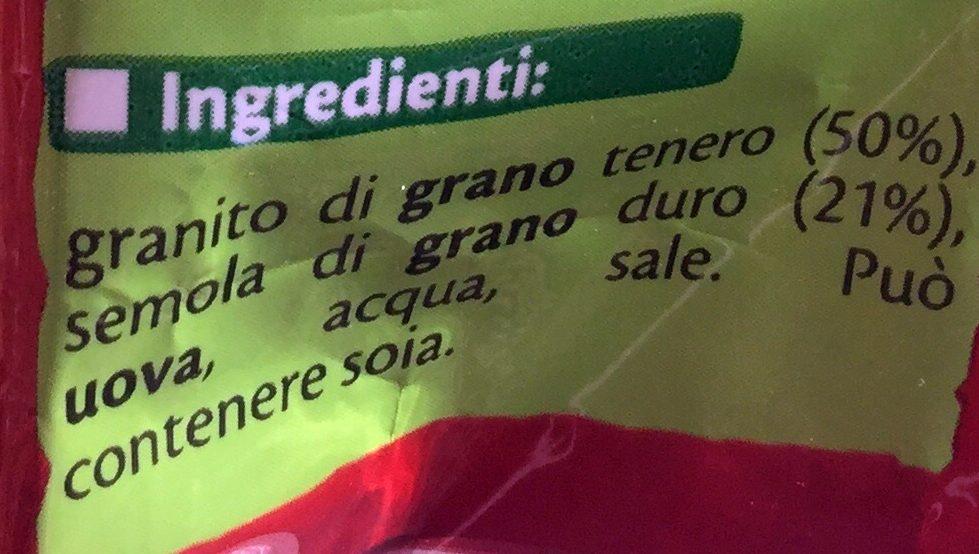 Nouilles aux oeufs - Ingredienti - it