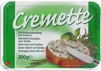 Cremette Frischkäsezubereitung Mit Kräutern - Produit - fr