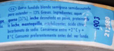 Quesitos light - Informations nutritionnelles - es