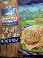 Burger-Scheiben - Produit - de