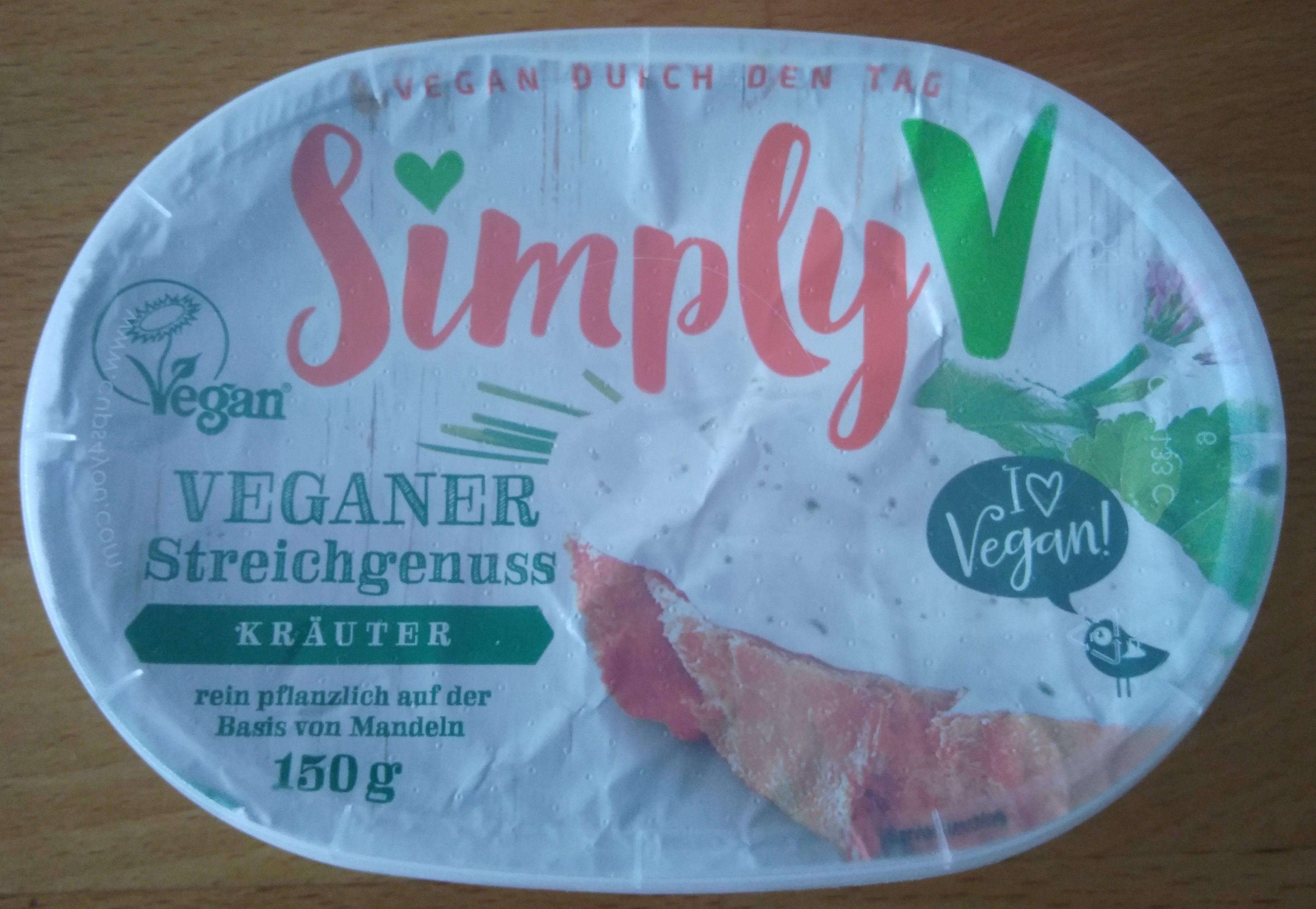 Veganer Streichgenuss Kräuter - Produit