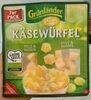 Käsewürfel mild & nussig - Produit