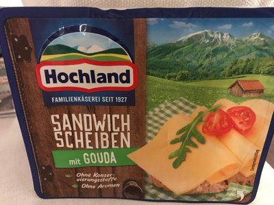 Sandwich Scheiben Gouda - Produit