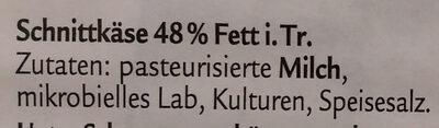 Mild & Nussig, Der Klassiker - Ingrédients - de