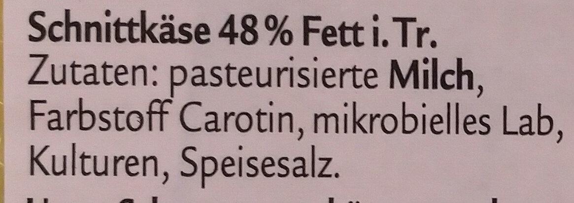 Würzig - Ingrédients - de