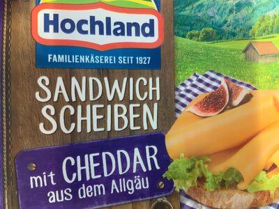 Cheddar - Produit - de