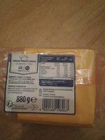 Fromage fondu au cheddar - Produit