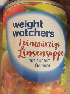 Feinwürzige Linsensuppe mit buntem Gemüse - Produit - fr