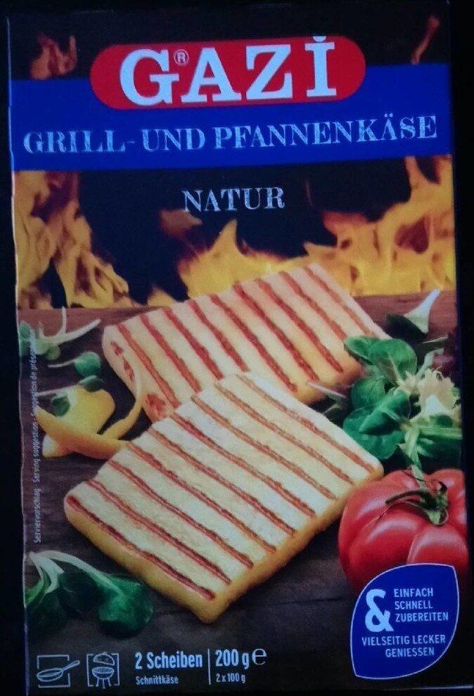 Grill- und Pfannenkäse Natur - Produkt - de