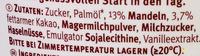 Belmandel - Inhaltsstoffe