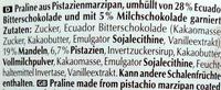 Bel Manda Orient-Pistazien - Inhaltsstoffe