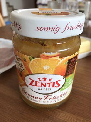Zentis Sonnen Früchte Süße Orange - Produit - de