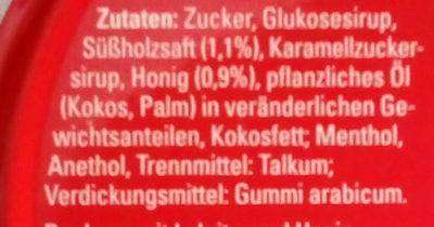 Pulmoll - Ingredients