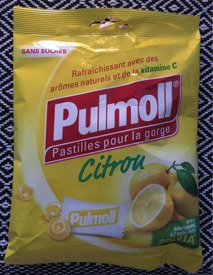 Pastilles pour la gorge au citron - Product