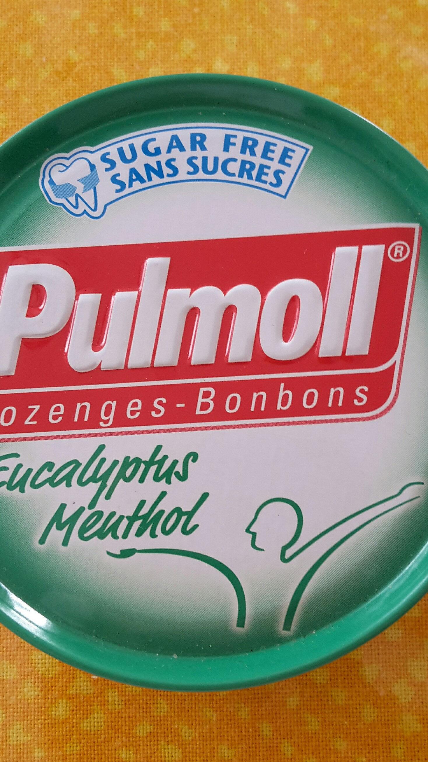 Pulmoll Pastilles Eucalyptus Menthol 45G - Produit - fr