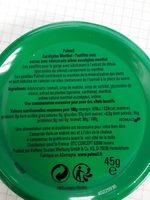 Pulmoll Pastilles Eucalyptus Menthol 45G - Informations nutritionnelles - fr